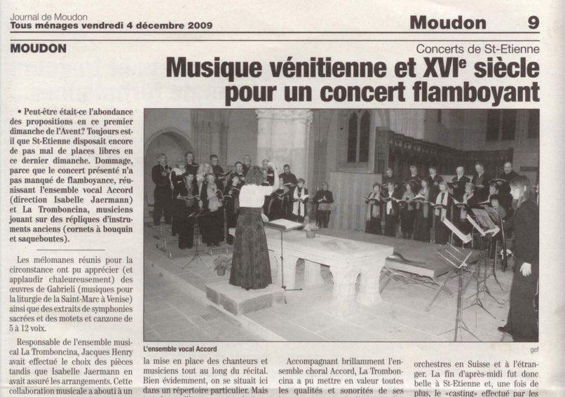 article musique venitienne