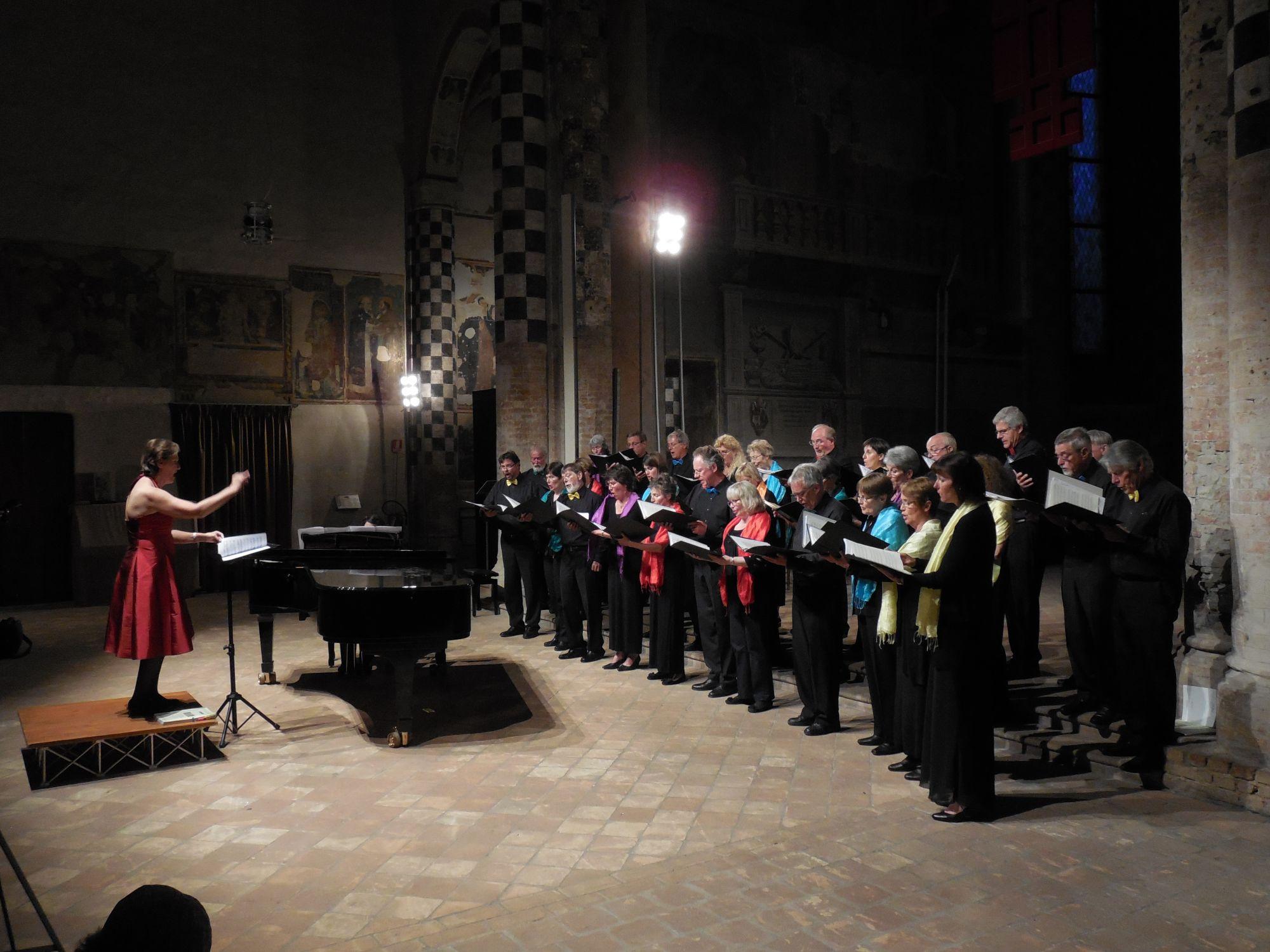 Concert à San Domenico d'Alba